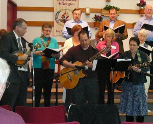 Choir & guitar