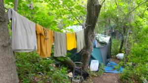 homeless in Huntington