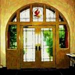 stain-glass-doors